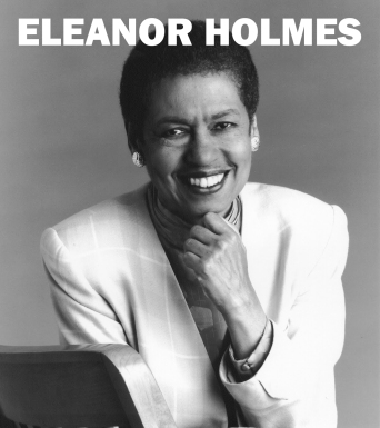 Eleanor Holmes Norton--BW
