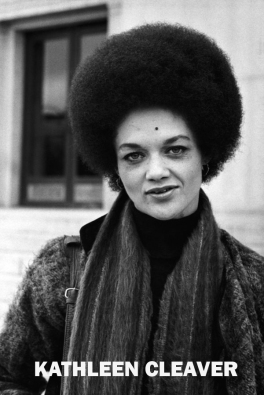 Activist and Black Panther Kathleen Cleaver stands in front of the Alameda County Courthouse in Oakland during the trial of her husband, Eldridge Cleaver. (Photo by © Ted Streshinsky/CORBIS/Corbis via Getty Images)